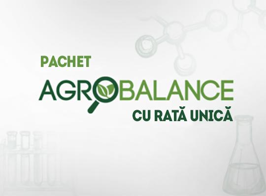 AgroBalance - Cartare agrochimică, fertilizare cu rată unică
