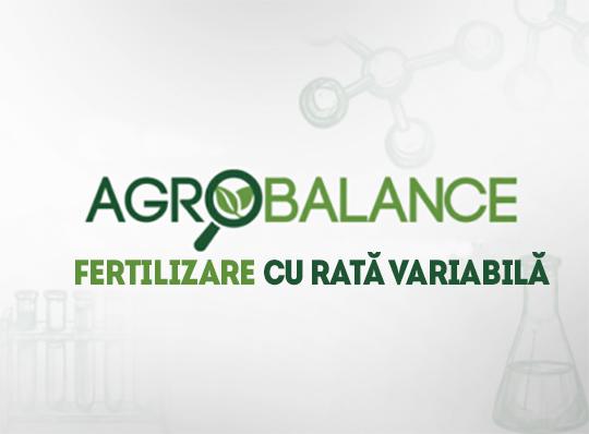 AgroBalance cartare agrochimică, fertilizare cu rată variabilă