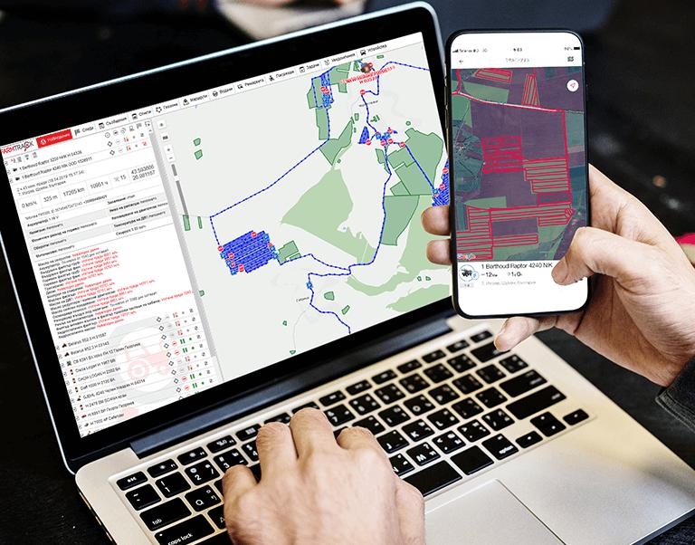Software pentru urmărire flotă și combustibil și analiza datelor de la utilaje agricole FarmTrack