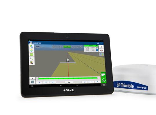 Monitor de ghidare Trimble GFX-750