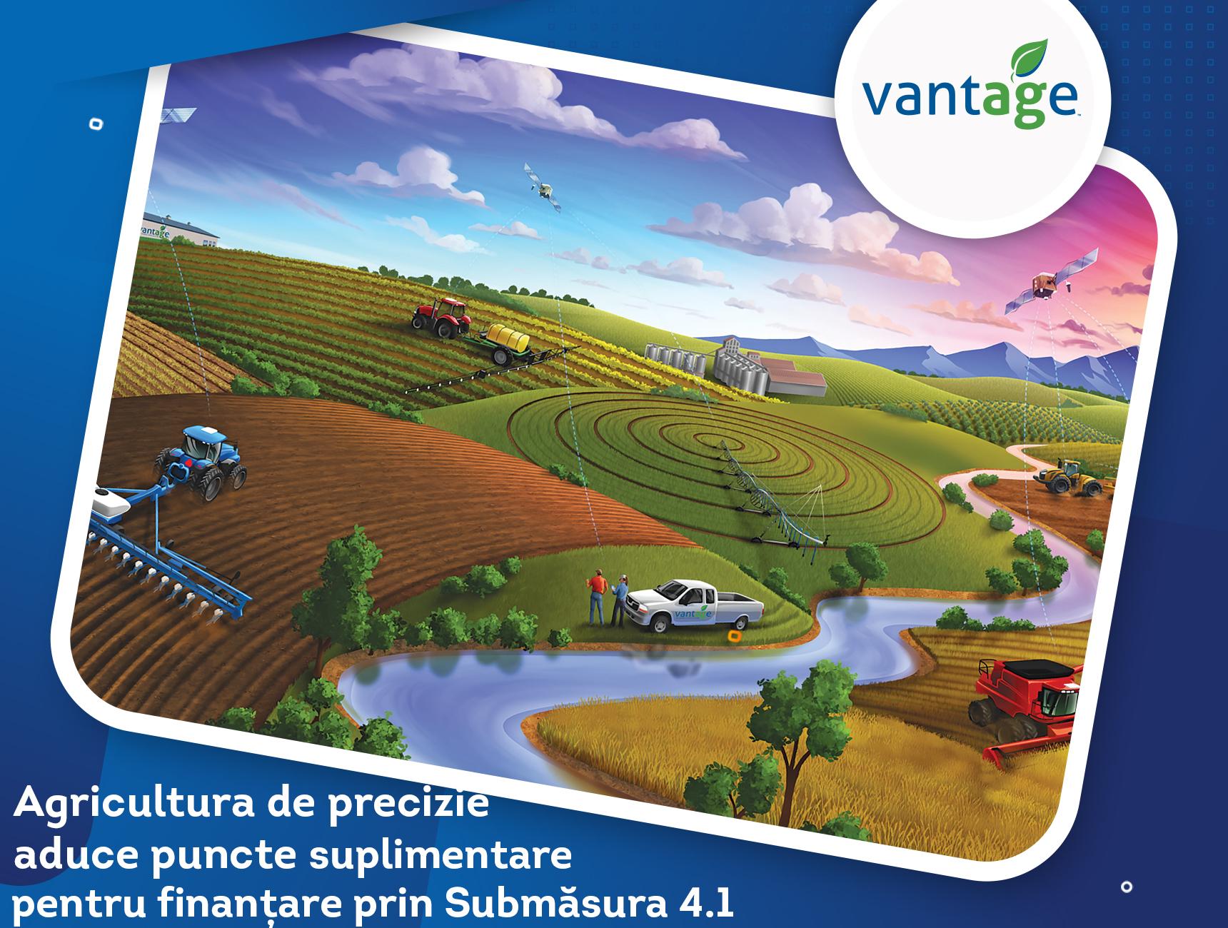 Agricultura de precizie aduce puncte suplimentare pentru finanțare prin Submăsura 4.1